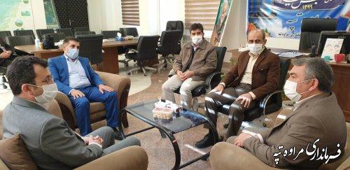 معارفه رئیس کمیته امداد امام خمینی ( ره) شهرستان مراوه تپه برگزار شد