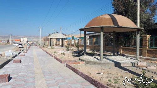 افتتاح و کلنگ زنی متمرکز پروژه های عمرانی و خدماتی شهرداری مراوه تپه