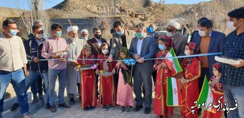 افتتاح پروژه های متمرکز عمرانی دهیاری های بخش گلیداغ