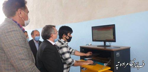 افتتاح اولین مرکز معاینه فنی خودروهای سبک در مراوه تپه