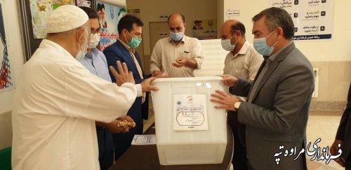 صندوق شعب اخذ رای  انتخابات آماده سازی شد
